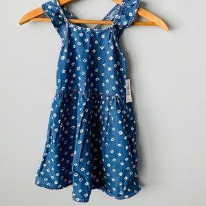 NEW Gap Toddler Girls Denim Dress Size 4, 5